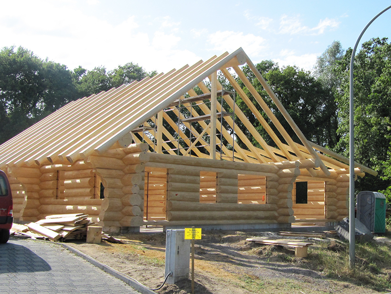 Kanadisches Blockhaus kanadisches blockhaus in brüggen löffler naturstammhaus