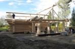 Kanadisches Blockhaus Lucka Bild 9