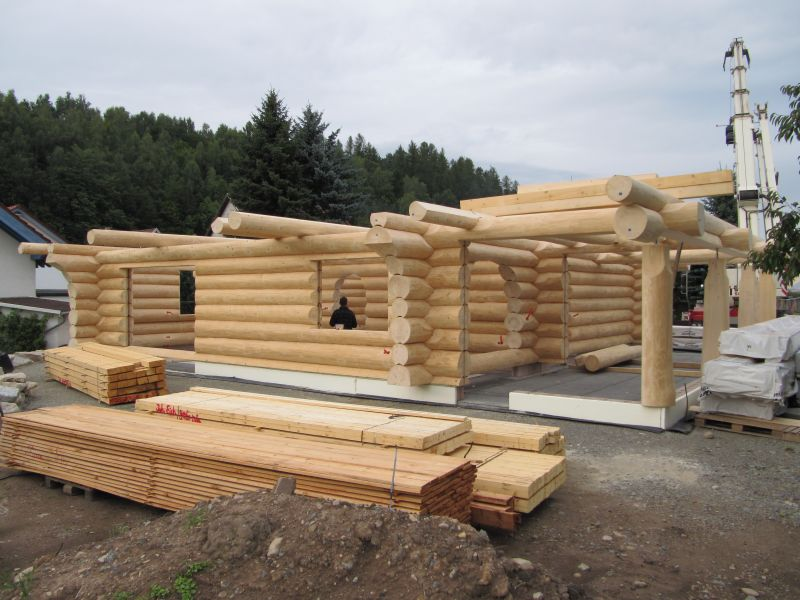 Kanadisches Blockhaus Schleußingen Bild 21