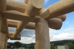 Naturstammfachwerkhaus Geisingen Bild 16