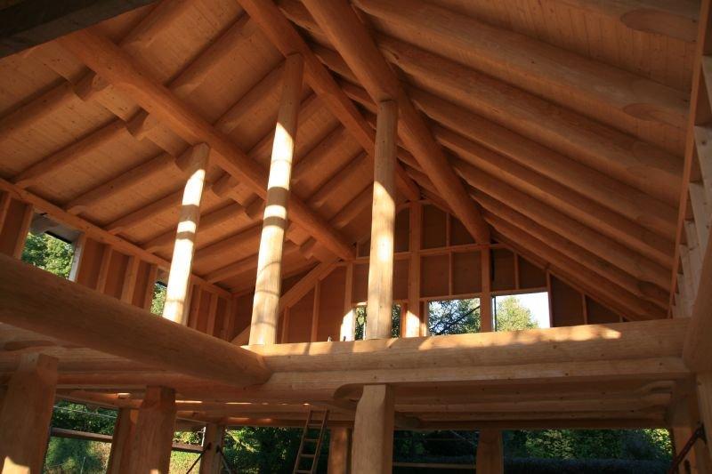 Naturstammfachwerkhaus Kieselbach Bild 14