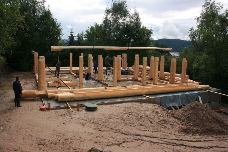 Naturstammfachwerkhaus Kieselbach Bild 2