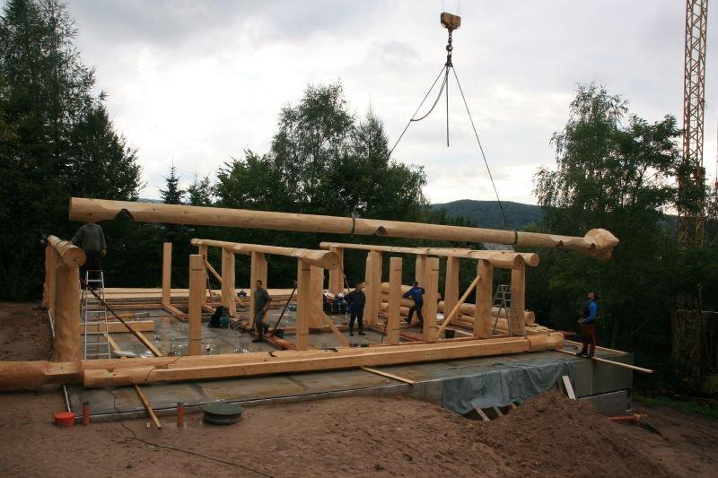Naturstammfachwerkhaus Kieselbach Bild 3