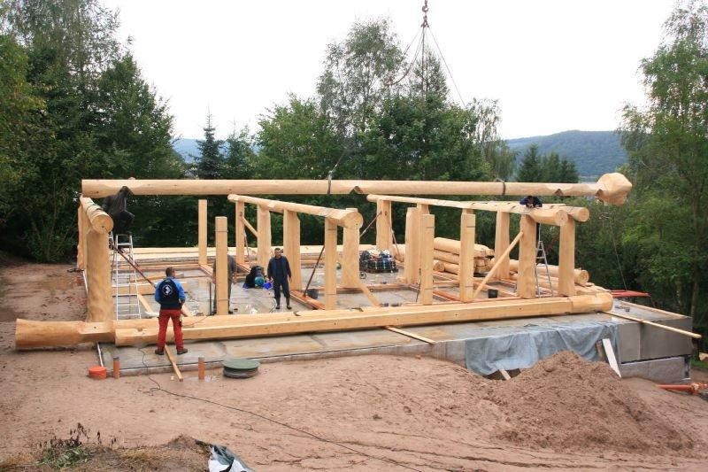 Naturstammfachwerkhaus Kieselbach Bild 4