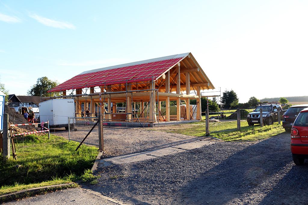 Naturstammfachwerkhaus Pössneck Bild 12