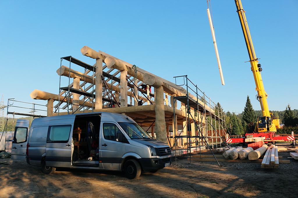 Naturstammfachwerkhaus Pössneck Bild 9