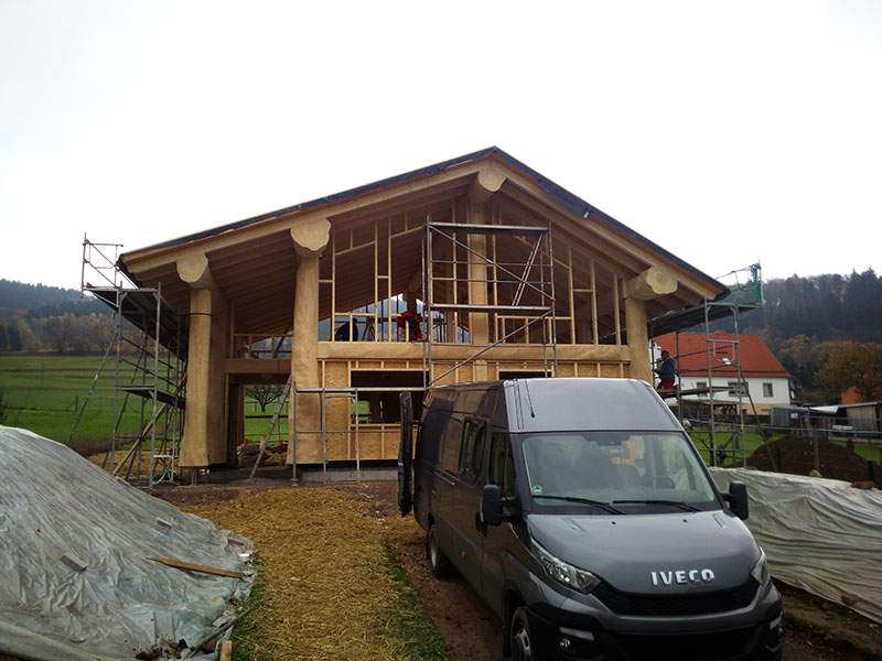Naturstammfachwerkhaus Laudenbach 4