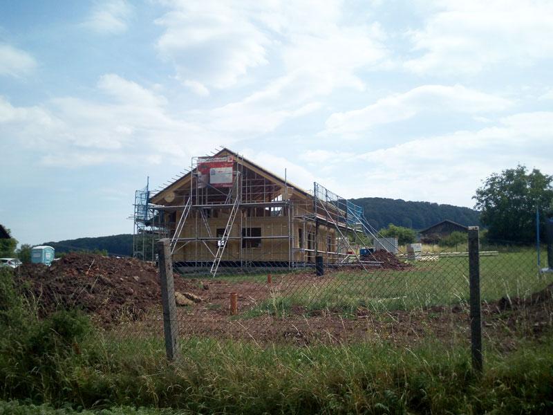 Naturstammfachwerkhaus Meiningen Bild 1