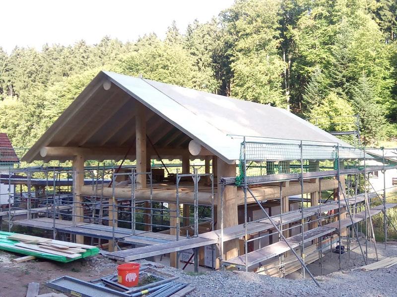Naturstammfachwerkhaus Ruhla Bild 3