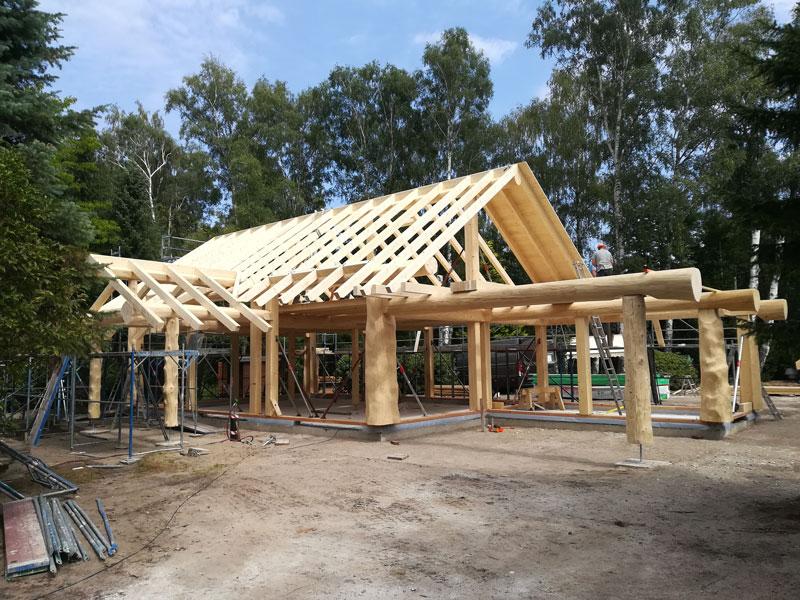 Naturstammfachwerkhaus Wahrenholz Bild 2