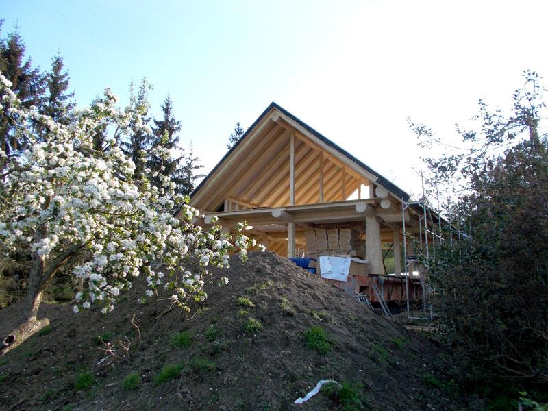 Naturstammfachwerkhaus Weberstedt Bild 2