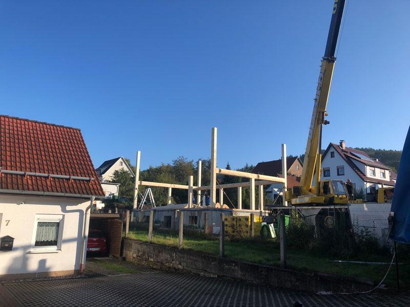 Naturstammfachwerkhaus Floh-Seligenthal 1