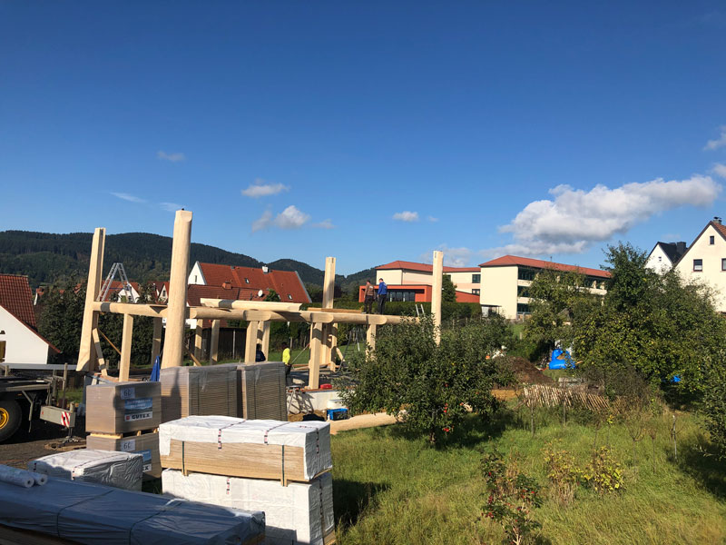Naturstammfachwerkhaus Floh-Seligenthal 3