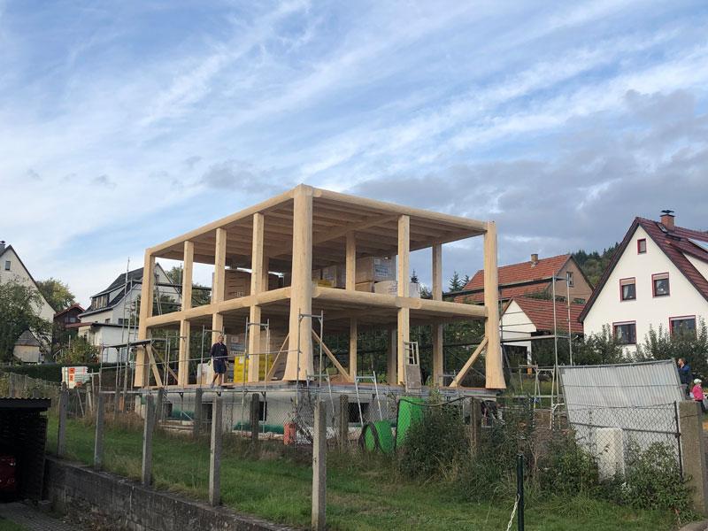 Naturstammfachwerkhaus Floh-Seligenthal 4