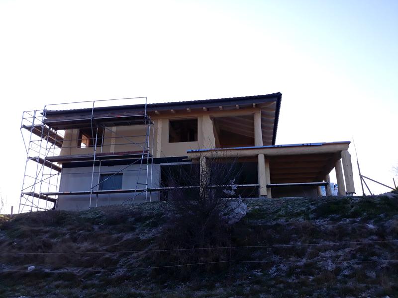 Naturstammfachwerkhaus Wolkenstein 13