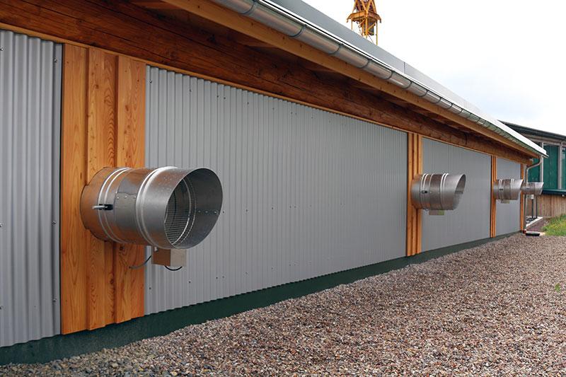 Trockenkammer der Firma Löffler-Naturstammhaus in Brotterode