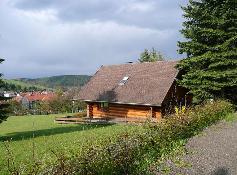 Blockhaus Urlaub Thüringen Bild 2