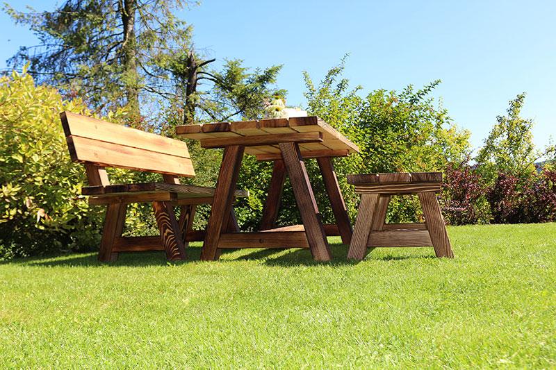 Gebürstete Massivholzmöbel 15