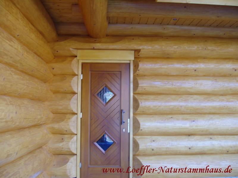 Löffler Naturstammhaus | Blockhaus Detailbilder