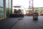 Unsere Naturstammhaus Montagehalle