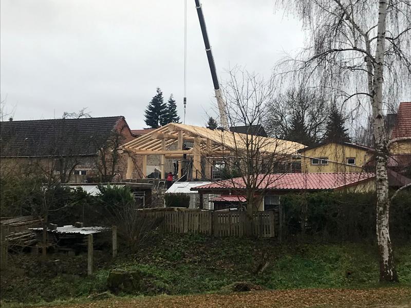 Naturstammfachwerkhaus Finne Bild 15