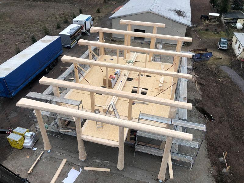 Naturstammhausfachwerkhaus Langewiesen 11