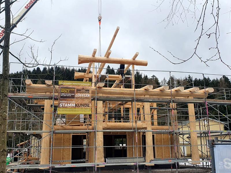 Naturstammhausfachwerkhaus Langewiesen 14