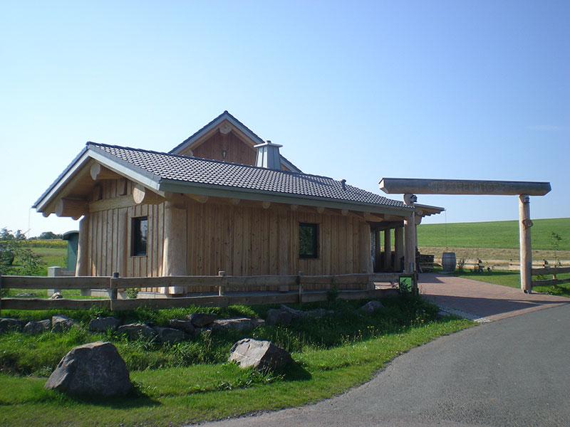 Naturstammhaus Urlaub Edersee Bild 3