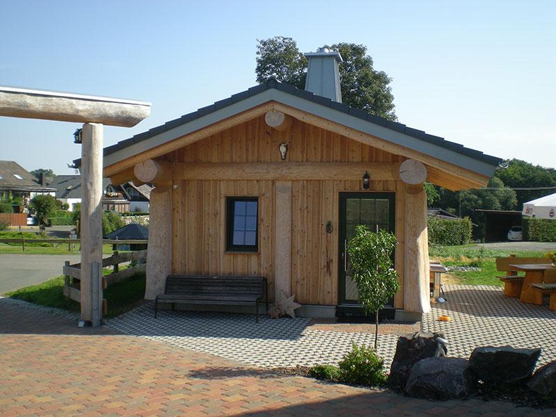Naturstammhaus Urlaub Edersee Bild 4