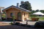 Naturstammhaus Urlaub Edersee Bild 1