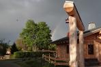 Naturstammhaus Urlaub Edersee Bild 5