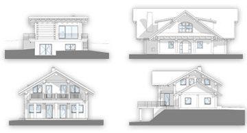 Naturstammhaus - Projekte