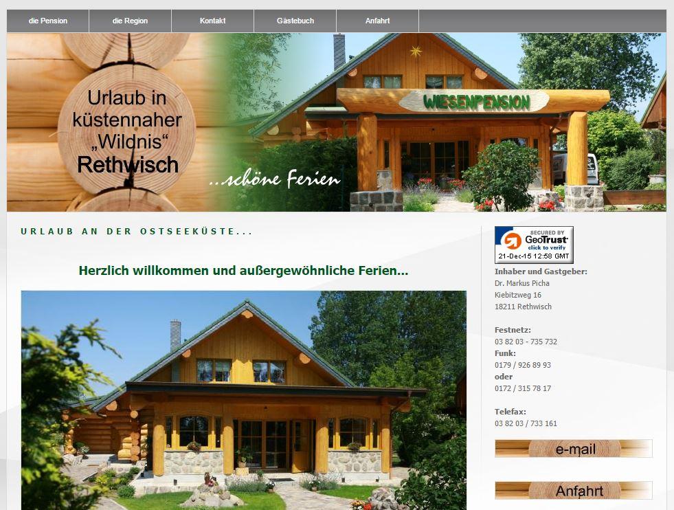 Naturstammhaus Urlaub Rethwisch