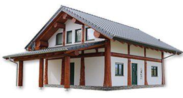 Das Naturstamm-Fachwerkhaus