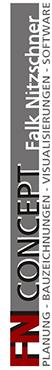 Banner Naturstammhaus Planer
