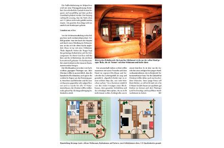 Löffler Naturstammhaus im Blockhome Magazin 2002-01 Seite 2