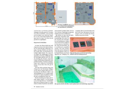Löffler Naturstammhaus im Blockhome Magazin 2002-04 Seite 2