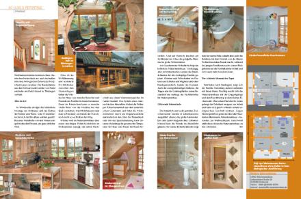 Löffler Naturstammhaus im Blockhome Magazin 2008-01 Seite 2