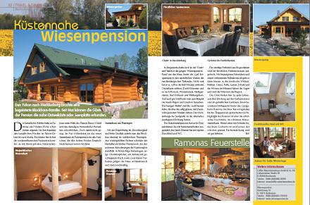 Loeffler Naturstammhaus im Blockhome Magazin 2009-03