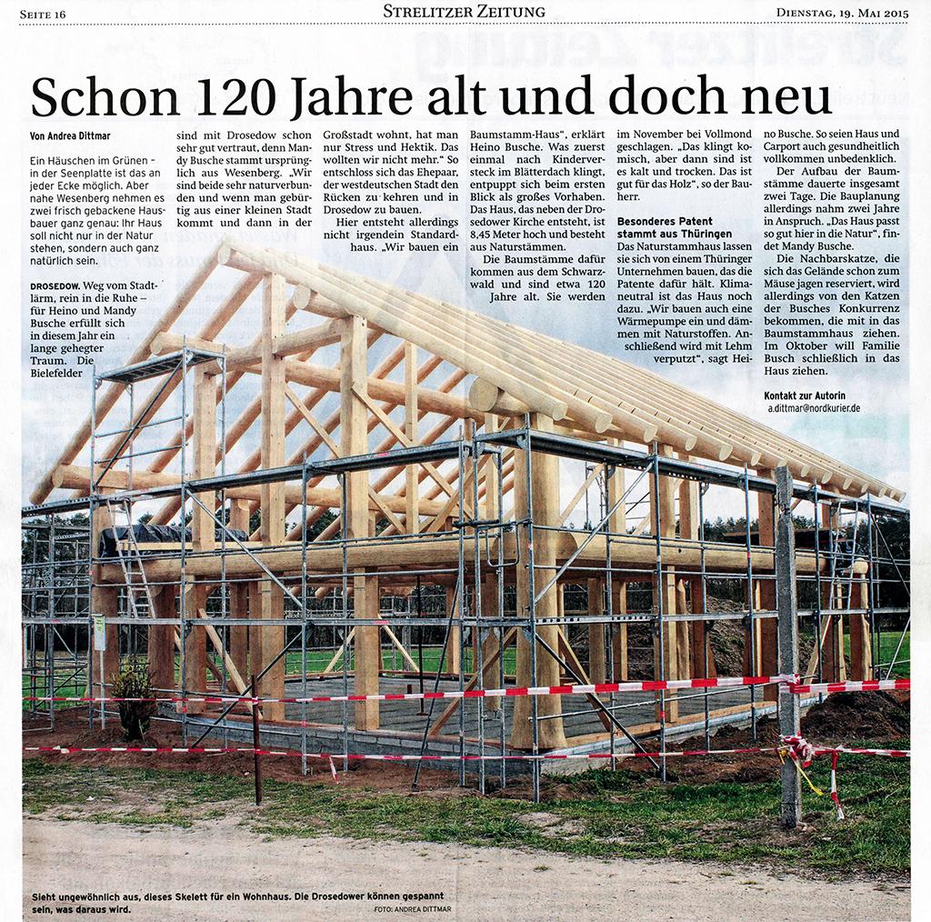 Presseartikel Strelitzer Zeitung