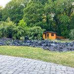 Gartenansicht Stammhausurlaub Ferienhaus Schwalm