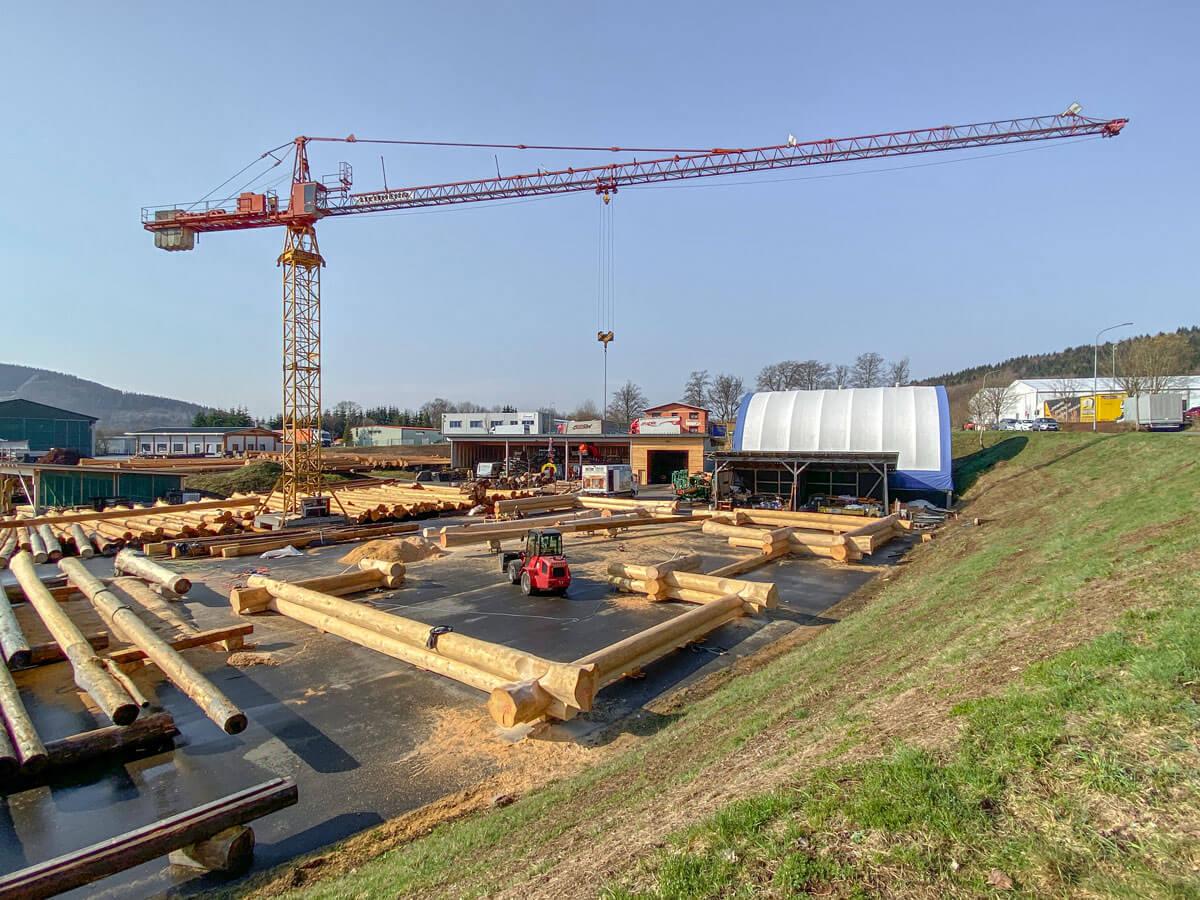 Fertigung Timberjacks Köln 0421